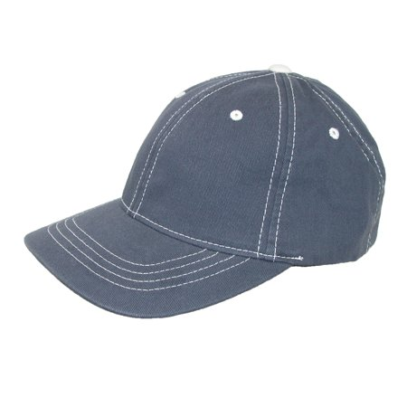 Flexfit Size Large/Xlarge Cotton Contrast Stitch Sports Baseball Hat, Navy