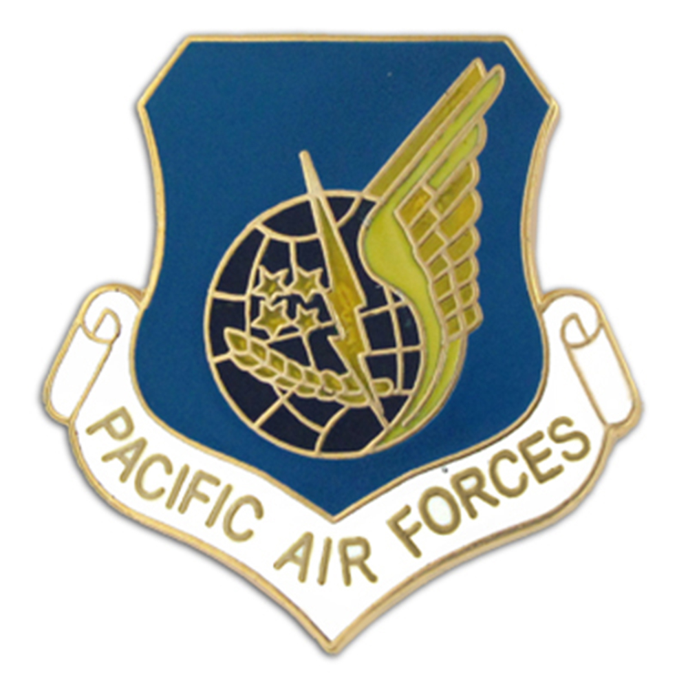 U.S. Air Force Pacific Air Forces Pin - Military Lapel Pin