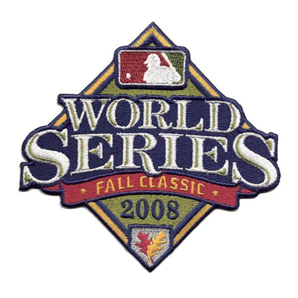 2008 World Series Logo Patch