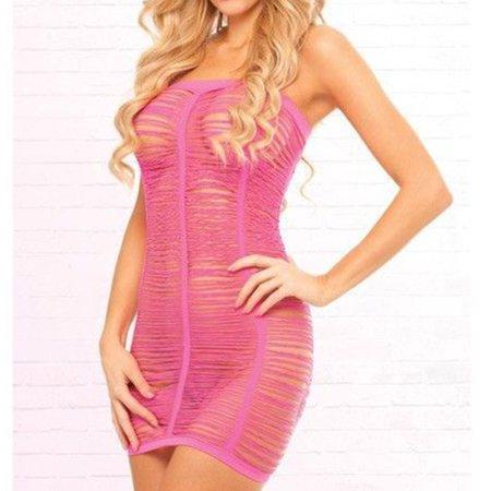 Women's Sexy Lingerie Chemise Sleepwear Babydoll Dress Fishnet Lace Underwear