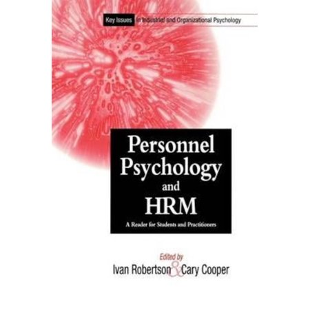 Personnel Psychology and Human Resources Management: A Reader for Students and Practitioners