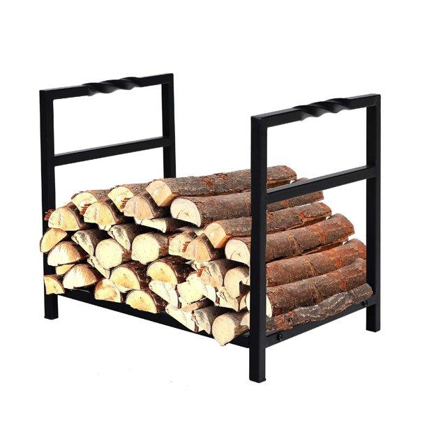 Inch Indoor Outdoor Firewood Rack Log, Outdoor Log Rack
