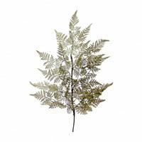 """26"""" Green Artificial Leaf Wood Fern Dripping Garland"""