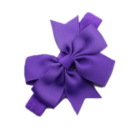 Infant Baby Girls Bow Headband Flower Hair Accessories - image 1 de 1