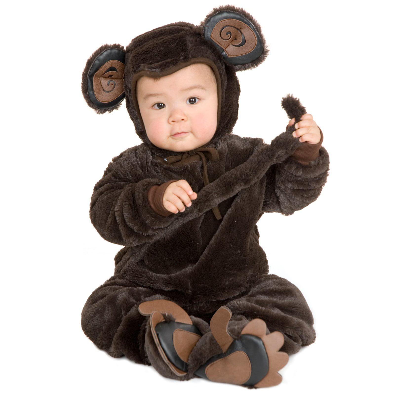 Plush Monkey Child Costume