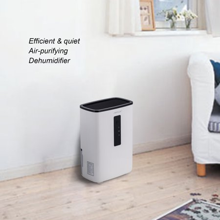 Air Dehumidifier w/ UV Light for Bathroom, Closet, Vehicles, 2200 Cubic