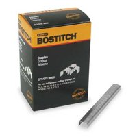 BOSTITCH Power Crown Staples,1/4 In,PK5000 STCR26191/4