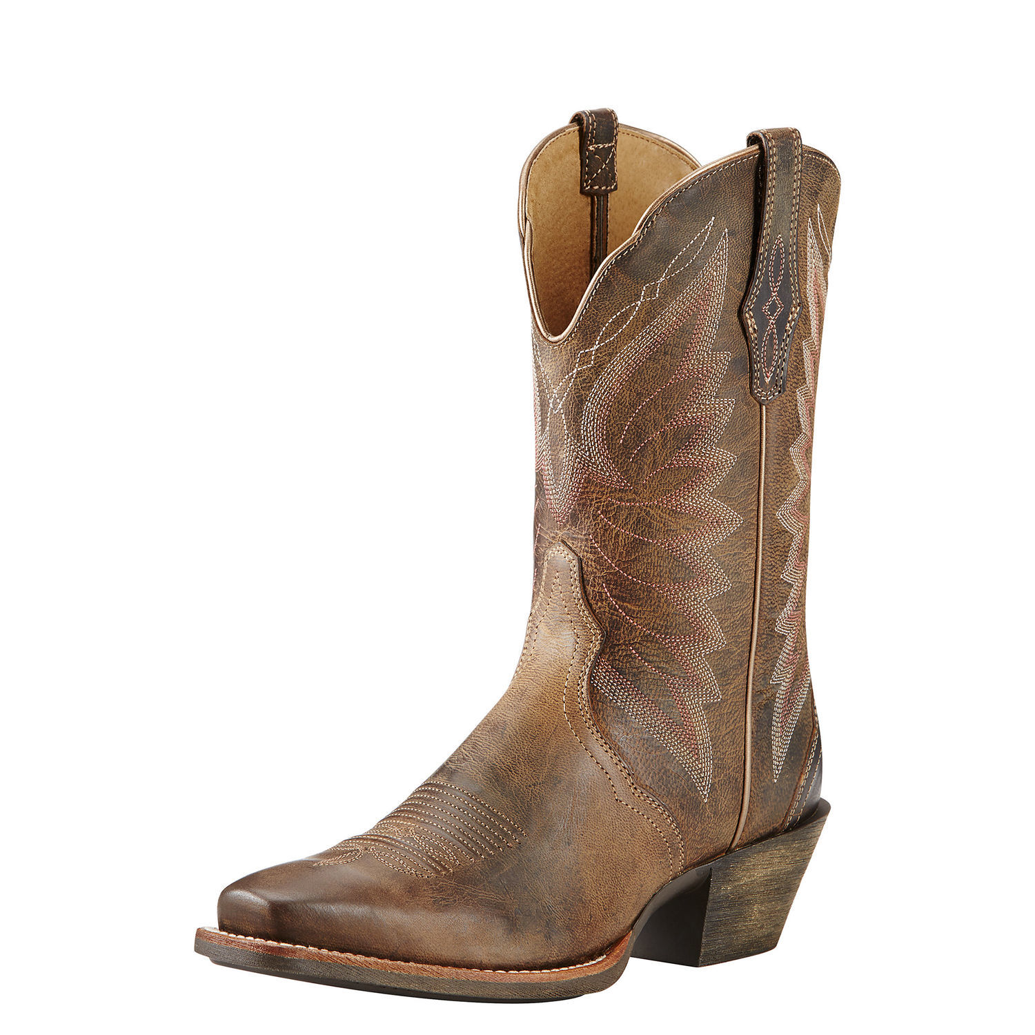 Ariat Autry Square Toe Leather Western Boot by Ariat