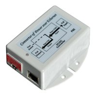 Tycon Systems TP-POE-1824 48V, 12W Passive POE Output Injectors - Switch Selectable 18 Or 24V