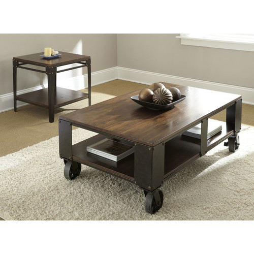Brady Furniture Industries Dunning Coffee Table Set