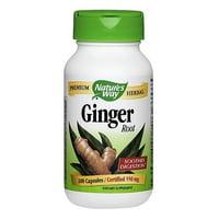 Nature's Way Ginger Root 100 Capsules