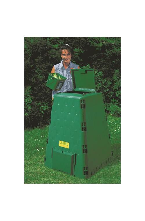 Medium Compost Bin in Green by Exaco