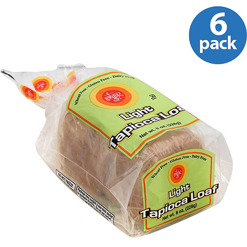 Ener-G Light Tapioca Loaf Bread, 8 oz, (Pack of 6)