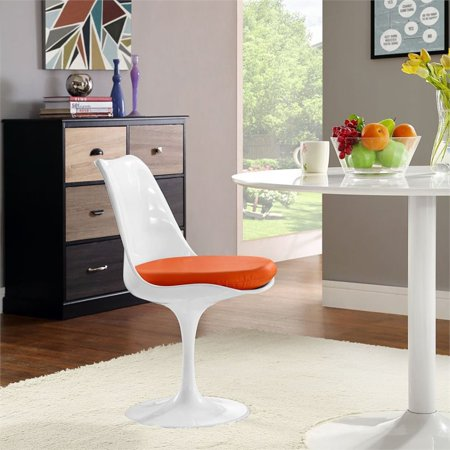 Hawthorne Collection Dining Side Chair in Orange - image 1 de 4