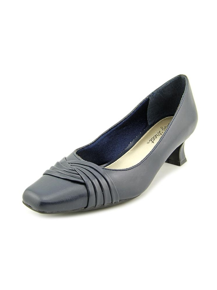 Easy Street Tidal Square Toe Synthetic Heels by Easy Street