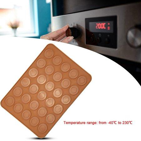 HURRISE 1pc 30 Holes Round Shape Macarons Mat Silicone Macaron Sheet Pad Pastry Cake Baking Tool,Macarons Mat, Macaron Sheet - image 8 de 9