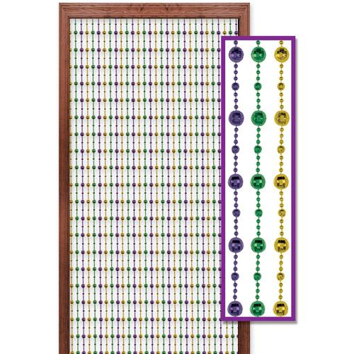 Mardi Gras Beads Curtain