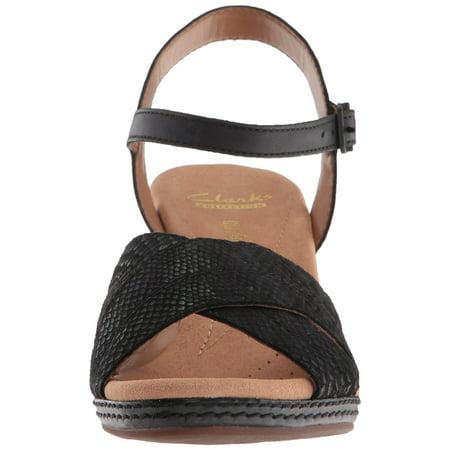 7853f896a19 Clarks Women s Helio Latitude Wedge Sandal - image 1 ...