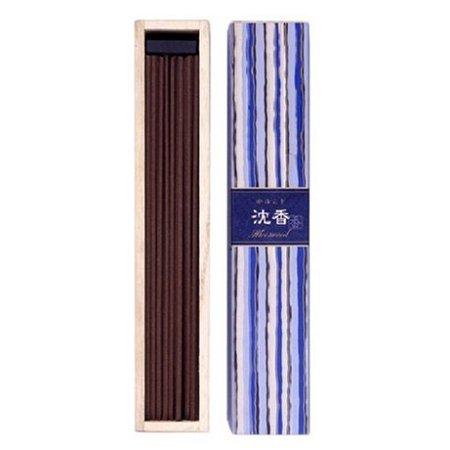 Nippon Kodo Kayuragi Japanese Incense Sticks - Aloeswood (40 Sticks)