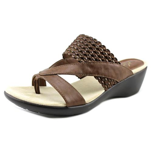 Kim Rogers Patta Women US 8 Brown Wedge Sandal