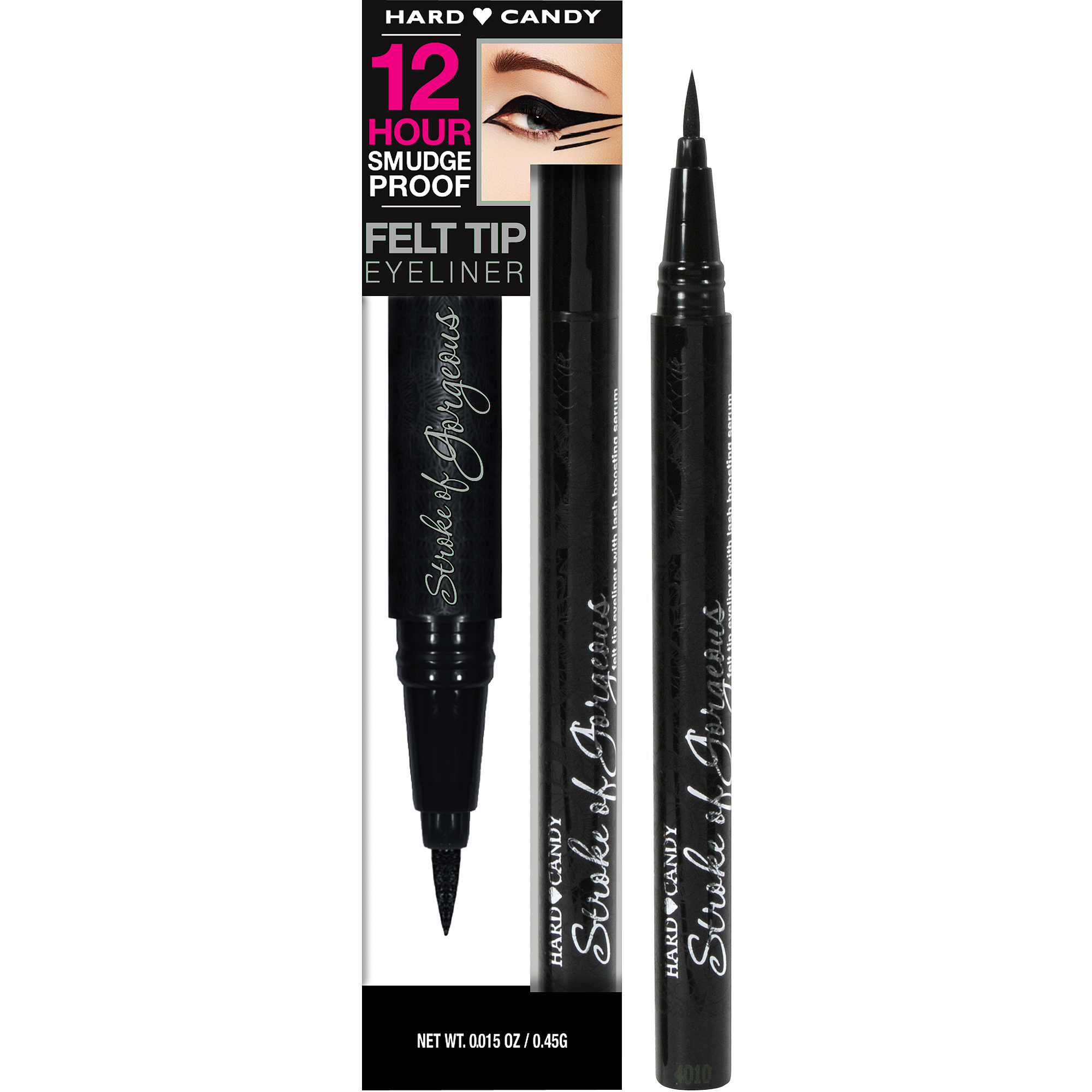Hard Candy Stroke of Gorgeous Felt Tip Eyeliner, 0.015 oz