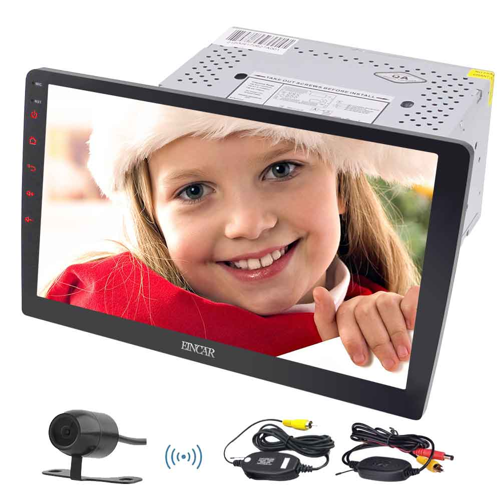 """10.1/"""" Android 6.0 Double 2Din Quad-Core Car Stereo Radio GPS Wifi 4G Navigation"""