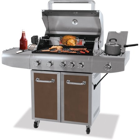 Better Homes And Gardens 5 Burner Gas Grill