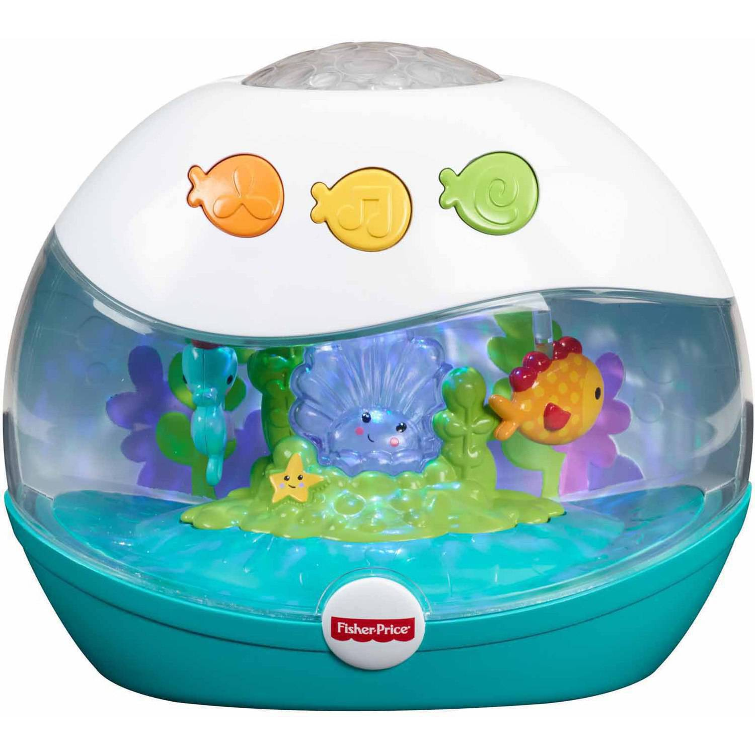 Fisher-Price Calming Seas Projection Soother - Walmart.com