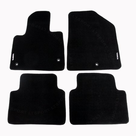 For 13-17 HYUNDAI SANTA FE Custom Fit Premium Nylon Black Floor Mats Carpet For 2013 2014 2015 2016 2017 13 14 15 16 17