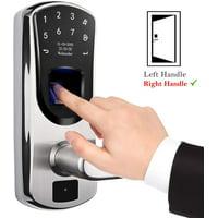 WeJupit V8 Smart Fingerprint Door Lock with Right Handle Deals