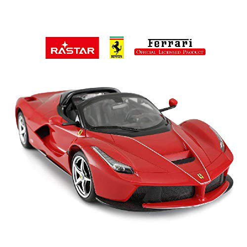 Fmt Rastar 1 14 Scale Ferrari La Ferrari Laferrari Aperta Rc Open Door Radio Remote Control Model Toy Car R C Rtr Licensed Product Red Walmart Com Walmart Com