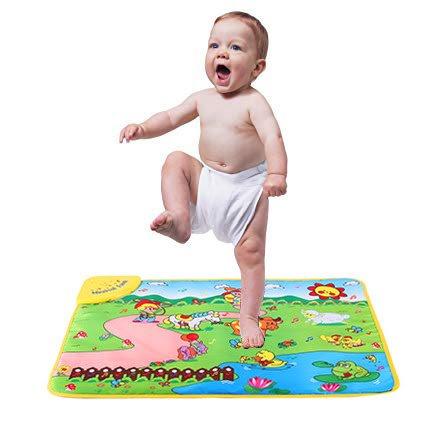 Farm Play Carpet - Baby Music Mat Music Mat Education Music Sound Farm Animal Touch Baby Play Singing Mat Baby Gym Carpet