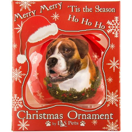 Dog Collection Decorative Shatterproof Christmas Ball Ornament ()