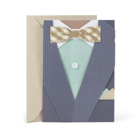 Hallmark Mahogany Birthday Card for Men (Stylish (Birthday Cards For Your Best Guy Friend)