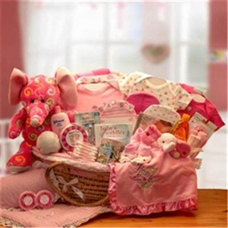 Gift Basket 890431-P Precious Petals Deluxe Moses Carrier - Pink