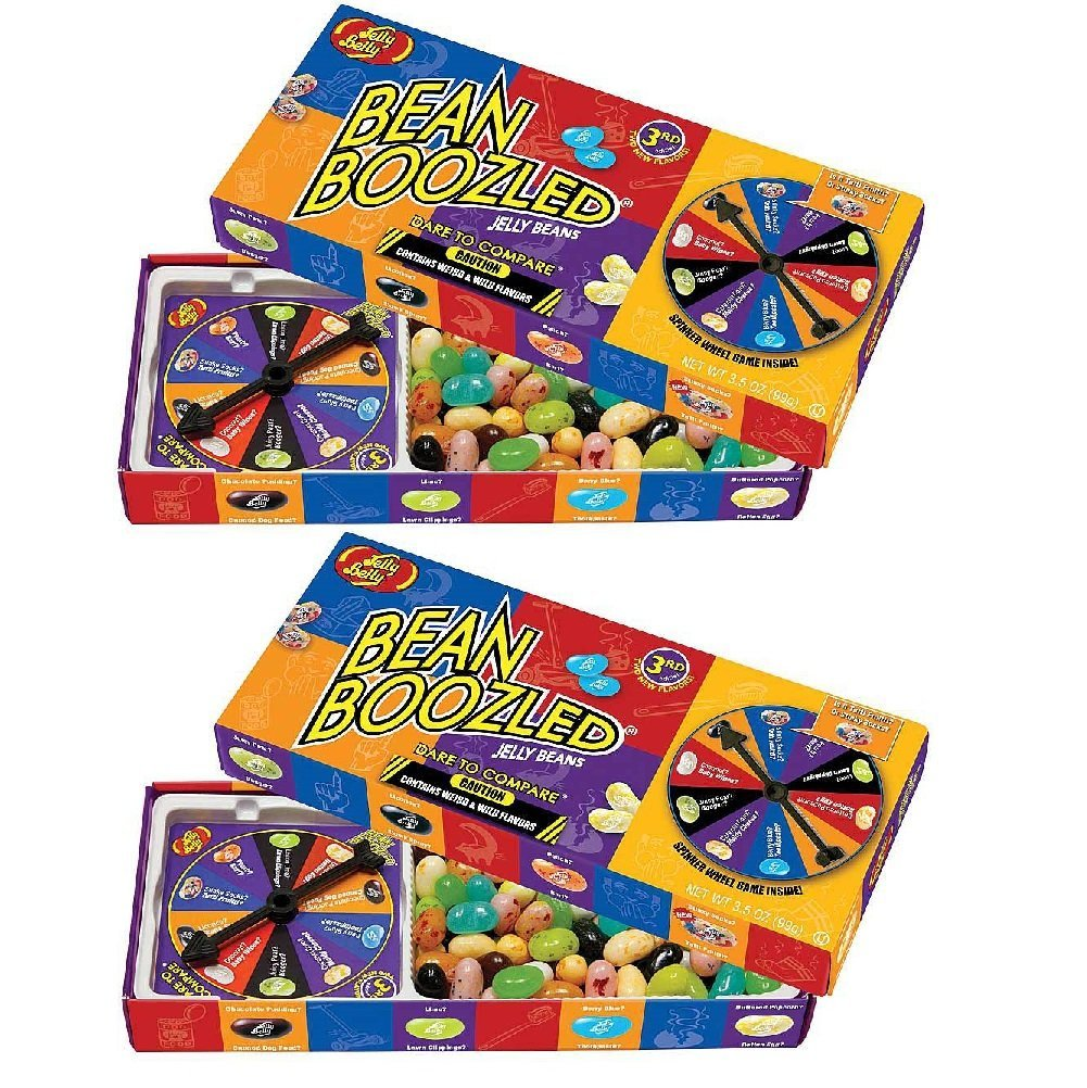Set2 Jelly Belly Bean Boozled Jelly Beans Gift Box Wild Weird Flavors