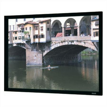 Da-Lite Imager Black Fixed Frame Projection Screen Da Lite Imager Audio