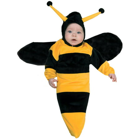 Infant Halloween Costume 0-6 Months (Bumble Bee Bunting Infant Halloween Costume, Size 0-6)