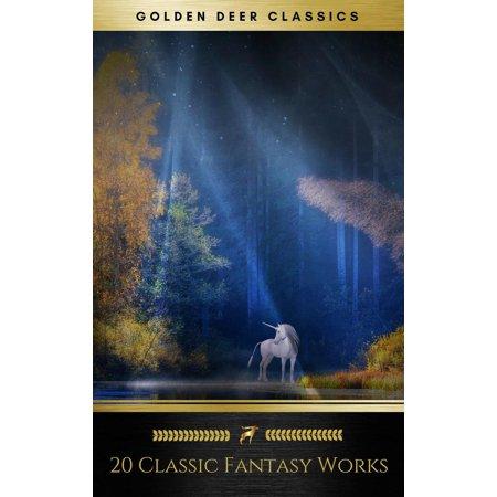 20 Classic Fantasy Works Vol. 1 (Golden Deer Classics) - eBook
