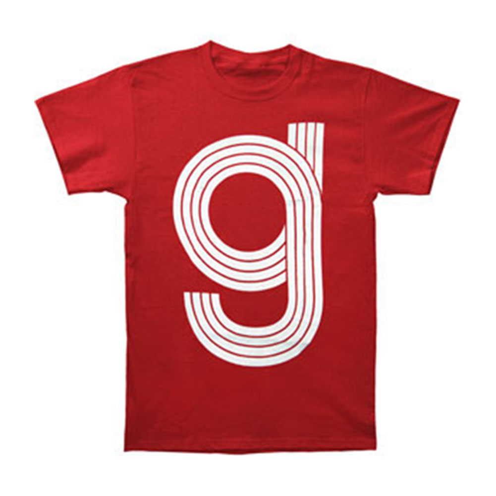 Glassjaw Men's  4 Stroke T-shirt Red