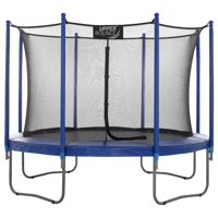 Upper Bounce 10ft Trampoline and Enclosure Set Equipped Deals
