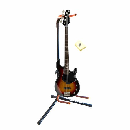 df98f92f4b Yamaha BB-Series BBP34 VS 4-String BBP34 Style Bass Guitar in Vintage  Sunburst with Guitar Stand and Guitar Polish Cloth - Walmart.com