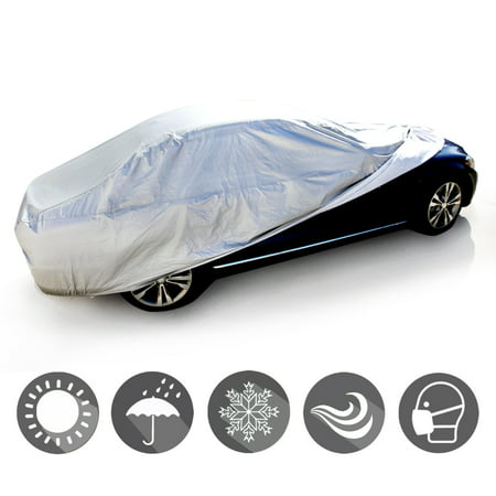 Fit Chrysler Car Cover Waterproof Indoor Outdoor Soft Cotton Inlay All Weather For PT Cruiser 2001 2002 2003 2004 2005 2