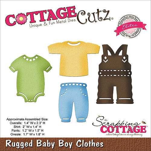 CottageCutz Elites Die, Rugged Baby Boy Clothes
