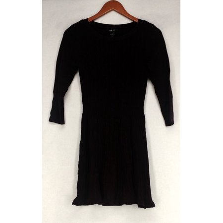 - Style & CO. Tunic Petite Size PS Ribbed Pattern Dark Purple Womens