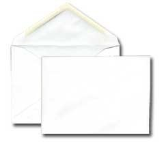 no 6 baronial invitation envelopes 4 3 4 x 6 1 2 6 bar 24lb