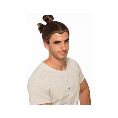 Man Bun Halloween Costume Accessory Wig