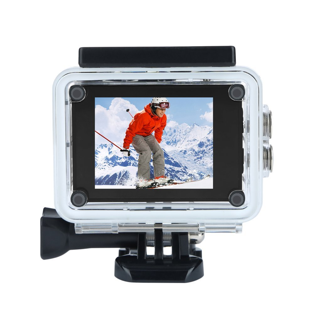 Black SJ5000 Action Camera Sports Cam Full HD 1080P 30m Waterproof 2.0 inch LCD Screen Mini Sports DV Camcorder With Cam Accessories On Sale