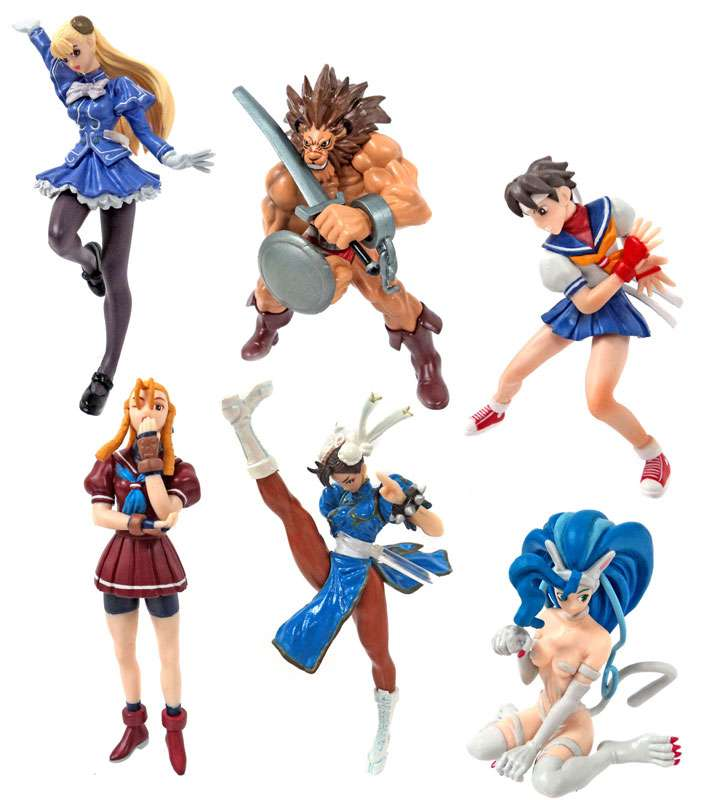 Fighting Jam Capcom Figure Collection PVC Figure Set