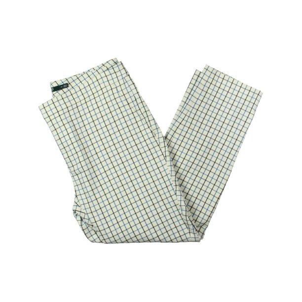 Lauren Ralph Lauren Womens Lycette Checkered Office Pants